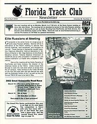Florida Track Club Newsletter - March 2002