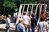 Habitat for Humanity - Wall Raising